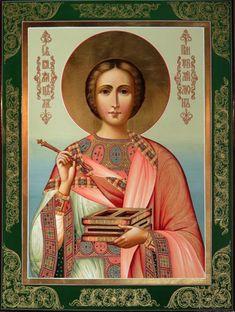 Saint Panteleimon the Healer.  Icon