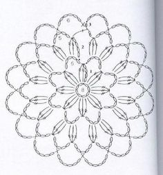 Transcendent Crochet a Solid Granny Square Ideas. Inconceivable Crochet a Solid Granny Square Ideas. Crochet Snowflake Pattern, Crochet Mandala Pattern, Crochet Circles, Crochet Snowflakes, Crochet Flower Patterns, Freeform Crochet, Crochet Diagram, Crochet Round, Crochet Chart