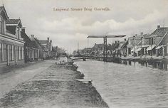 Gorredijk - Langewal Nieuwe Brug - poststempel 1906