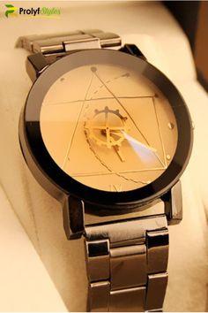Compass Women Men Stainless Steel Watch Retro Quartz Analog Wrist Watch sy Parts & Accessories, & Watches, Stylish Watches, Luxury Watches, Cool Watches, Watches For Men, Popular Watches, Fine Watches, Casual Watches, Fossil Watches, Seiko Watches