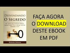 O Livro desvendado o segredo |  Download - Livro nicholas johnson  | Baixar PDF| !!!