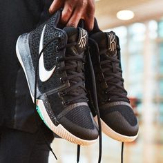"d1ace393884e Nike Basketball on Instagram  ""Cut out of nowhere with the Kyrie 3 s curved  outsole and independent suspension pods. Available 12.26 on Nike.com."