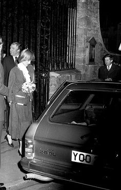 December Prince Charles & Princess Diana attended a concert at Tetbury Church in aid of The Benjamin Britten Foundation. Princess Diana Rare, Princess Diana Pictures, Royal Princess, Prince And Princess, Princess Of Wales, Prince Harry, Charles And Diana, Prince Charles, Hm The Queen