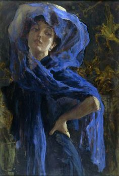 "Glauco Cambon - ""The Blue Veil"" - 1907"