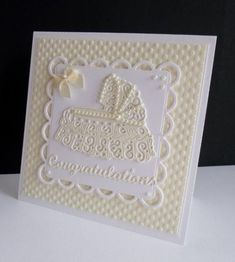 Tattered lace crib die + cards - Google Search