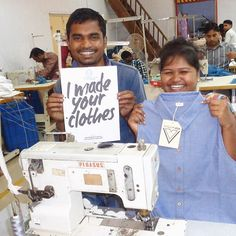 You asked and we answered! These are the people who make virtue + vice's clothing in Umbergaon, Gujarat! We encourage you to continue asking brands the question 'Who made my clothes?' to demand transparency. Shop our organic cotton chambray CARRIGAN dress and other eco styles on our site. Link in the bio.    #fashionrevolutionweek #fashionrevolution #fashion #whomademyclothes #imadeyourclothes #showyourtag #30wears #ethicallymade #sustainable #fairwages #safeworkingconditions #india #guja...