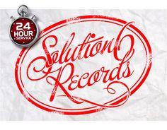 Custom distressed rubber stamp logo design, vintage business name badge, document stamp logo, OOAK logo design, professional seal name logo