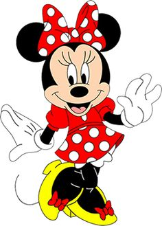 Minnie Mouse is a funny animal cartoon character created by Ub Iwerks and Walt Disney. She and Mickey Mouse were first drawn by Iwerks in Played by: Russi Taylor, Marjorie Ralston Mickey Minnie Mouse, Mickey Mouse Imagenes, Minnie Mouse Clipart, Disney Clipart, Disney Mickey, Walt Disney, Mickey Mouse Letters, Disney Trivia, Disney Cars