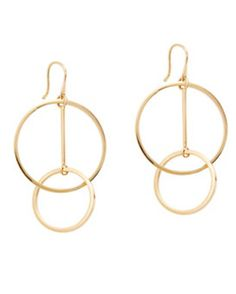 Lele Sadoughi Twisted Hoop Earrings