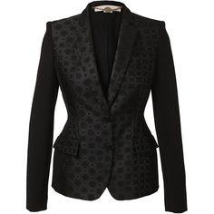 STELLA MCCARTNEY Tailored brocade jacket found on Polyvore