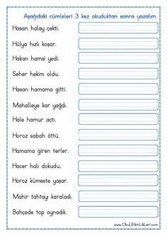 """"""" h """" Sesi Cümle Okuma Yazma Etkinliği pdf formatında özgün bir çalışma olarak hazırlanmıştır. Aşağıda bulunan linkten kolayca indirebilirsiniz. Tüm çalışmalarımızı kendi emeklerimizle özgün.."""