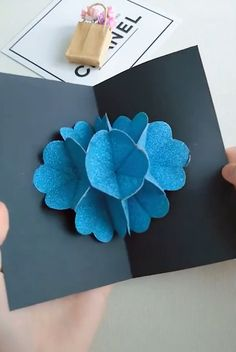Pop Up Cards Ideas 😍 PaperCrafts How to make pop up cards Amazing paper craft ideas is part of Diy home crafts - Diy Home Crafts, Diy Arts And Crafts, Creative Crafts, Fun Crafts, Crafts For Kids, Paper Crafts, Diy Paper, Paper Flowers Diy, Flower Crafts