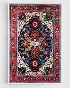 jason seife's hand-painted persian carpets are impossibly ornate