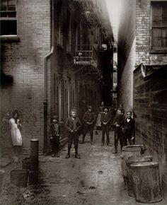 Jacob Riis, Mullen's Alley, Cherry Hill