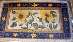 Sunflower Kitchen Rugs On Rugged Wearhouse Cool Large
