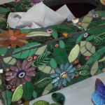 Mosaic Designer Tissue Box : Crafts : The Home Channel Mosaic Crafts, Mosaic Projects, Mosaic Art, Projects To Try, Mosaic Ideas, Diy Letter Boxes, Diy Letters, Tissue Box Covers, Tissue Boxes