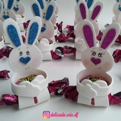 Bunny Crafts, Flower Crafts, Easter Crafts, Candy Bouquet Diy, Diy Bouquet, Easter Egg Dye, Easter Party, Diy For Kids, Crafts For Kids