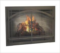 8 best fireplace doors images fireplace glass doors fire places rh pinterest com