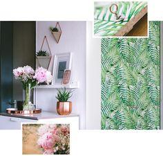 Pixers DIY self-adhesive wallpaper door makeover Source: @rosegoldandmarble.de https://www.instagram.com/p/BUZb4vyAvhS/?taken-by=rosegoldandmarble.de #bedroom #makover #wall #wallmural #wallpaper #jungle