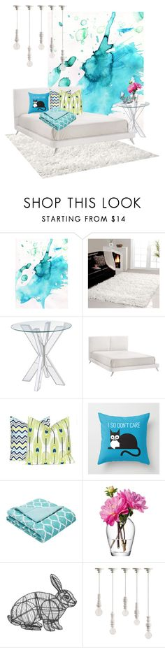 """Home 123"" by elena-edrenkina ❤ liked on Polyvore featuring interior, interiors, interior design, home, home decor, interior decorating, Affinity Home Collection, Pier 1 Imports, Dot & Bo and Madison Park"