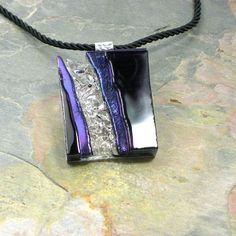 Glass Art Pendant by Joy Scott, profiled at www.ArtsBusinessInstitute.org
