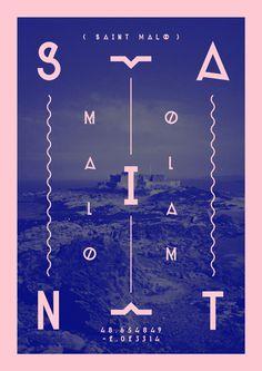 Saint Malo by Milan van de Goor, via Behance