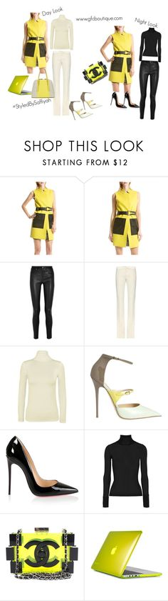 """""""Sleeveless Vest"""" by mygirlfriendsclosetboutique ❤ liked on Polyvore featuring Helmut Lang, Gucci, WearAll, Jimmy Choo, Christian Louboutin, T By Alexander Wang, Chanel, Speck, Isaac Mizrahi and ootd"""