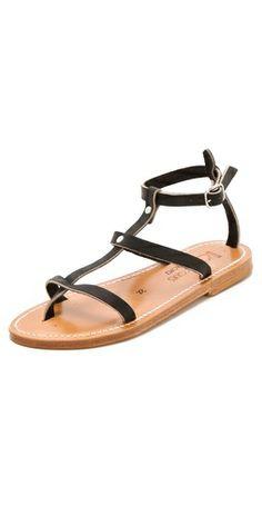 d590a791378 K. Jacques Gina Flat Sandals