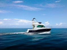 Meet La Parenthèse!  Your fishing boat