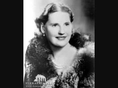 Kirsten Flagstad. She first performed the Four Last Songs by Richard Strauss. http://www.youtube.com/watch?v=zPmF9J3fcgA