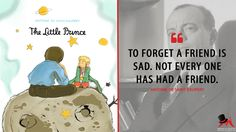 Antoine de Saint-Exupéry: To forget a friend is sad. Not every one has had a friend.  More on: http://www.magicalquote.com/book/the-little-prince/ #AntoinedeSaintExupéry #TheLittlePrince #bookquotes