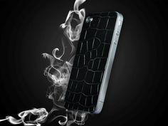 FL Luxury Product iPhone 4 alligator black