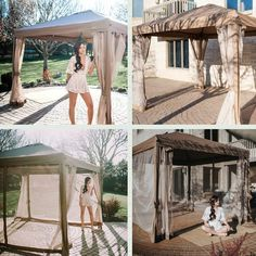 Patio Gazebo, Garden Gazebo, Backyard Patio, Garden Canopy, Pergola Canopy, Outdoor Events, Outdoor Rooms, Mosquito Net