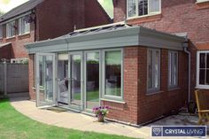 The perfect combination of a solid home extension and light and airy living space, a Crystal Living orangery effortlessly blends practicality and elegance. Garden Room Extensions, House Extensions, Kitchen Extensions, Roof Extension, Extension Ideas, Kitchen Diner Extension, Modern Barn House, Roof Lantern, House With Porch