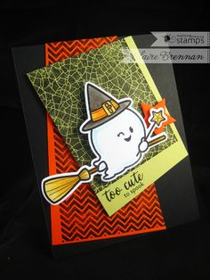Halloween cutie card using new Boo and Friends stamps and dies from Waltzingmouse Stamps - in store from the evening of the 27th August! - click for details http://waltzingmouse.blogspot.co.uk/2014/08/introducing-boo-and-friends.html