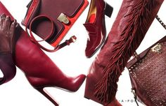 It's all about rouge this fall.