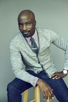 Luke Cage actor Mike Colter is our final pick for today's Groom inspiration of . His attire is certainly courthouse ceremony or wedding rehearsal worthy. Luke Cage Actor, Mike Colter, Marlon Teixeira, Black Actors, Dapper Men, Indie Movies, Good Wife, Celebrity Dads, Going To The Gym