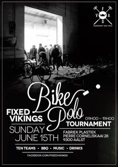 Fixed Vikings Bike Polo Tournament