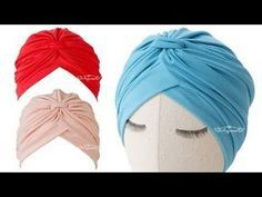 Como Hacer un Gorro Turbante - YouTube Baby Turban, Turban Hat, Hat Patterns To Sew, Sewing Patterns, Hat Tutorial, Baby Hats, Classy, Cap, Youtube
