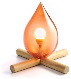 Luminária com design inspirado em Fogueira #hiperoriginal #luminária #fogueira #HO!