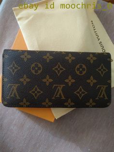 27d0e6e92f7 Classic Louis Vuitton Monogram Zippy Organizer Canvas Long LV Wallet   fashion  clothing  shoes