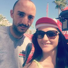 With Jelle #Vanendert at the #vuelta #spain #Marbella #puertobanus