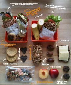 Madpakke inspirationn- for the lunchbox