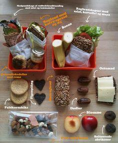 Madpakke inspirationn- for the lunchbox