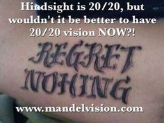 Hindsight is 20/20 but, wouldn't it be better to have 20/20 vision NOW?!  Call us at 888-866-3681 to schedule a free LASIK consultation with corneal specialist, Dr. Mandel.  www.mandelvision.com  #MandelVision  #LASIK #Hindsightis2020