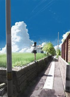 Anime, manga and games, observed from Japan Anime Art Girl, Manga Art, Anime Places, Graphisches Design, Image Manga, Scenery Wallpaper, Estilo Anime, Anime Scenery, Jolie Photo