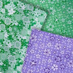 Set Papiers de Création Fleurs Vintage