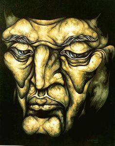 Ricardo Carpani arte Argentino Eye Art, Modern Art, Art Painting, Definition Art, Male Art, First Art, Portrait, Figurative Artists, Interesting Art