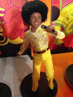 Young Michael Jackson (Jackson 5) figure at Madame Tussauds, Vienna