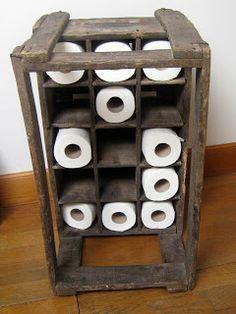 bois flotté, bricolage, recup, recyclage, deco marine : le blog de recup-o-bois-flotté: réserve de papier toilette